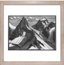 Mountains - Ready Framed